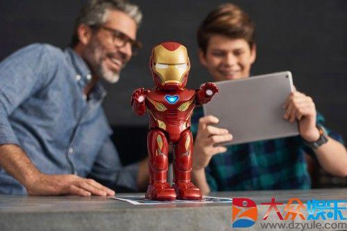 优必选与漫威合作推出首款钢铁侠智能机器人 探索沉浸式互动体验