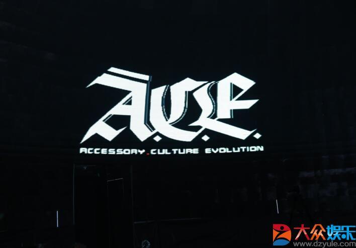 A.C.E.首次亮相潮流艺术节,成明星必Buy单品?