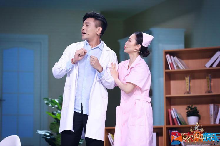 朱孝天登《跨界喜剧王》第四季挑战喜剧 变身心理医生治愈文松