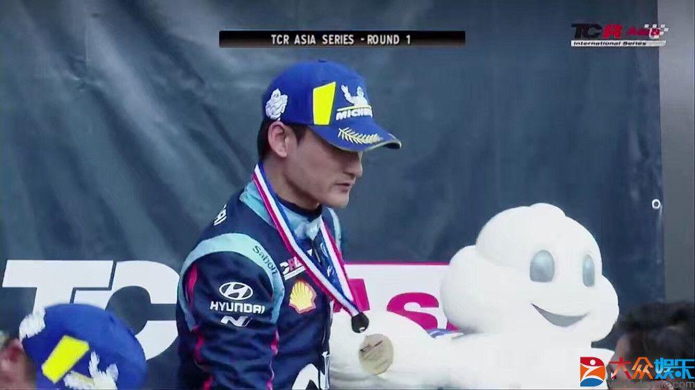光影藏身赛道亮剑 演员高华阳TCR亚洲赛夺季军