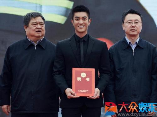 杜江担任北京市消防宣传大使 用演员力量传递社会力量