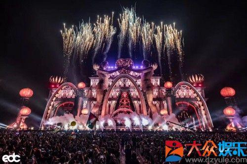 两天五万乐迷共襄视听盛宴,华人时代续写EDC广东站电音嘉年华神话