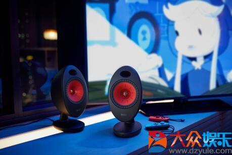 黑科技打造动感音质 KEF EGG Duo数字音乐系统发布