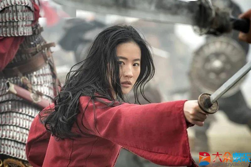 刘亦菲素颜试镜《花木兰》视频流出,导演:最好的决定!