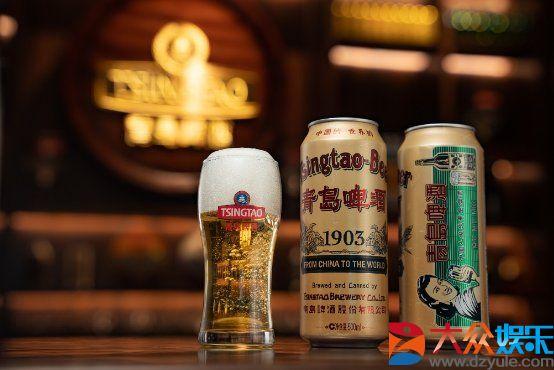 青岛啤酒携全新包装1903国潮罐,重磅登陆汪涵直播间引爆全场